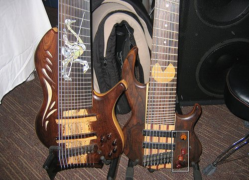 steampunk guitar mod design 1