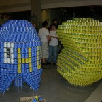pacman canstruction artwork 3