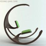 rocking wheel chair