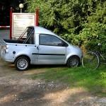 smart car pick up design image