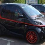 smart car the a team van design