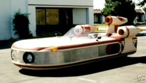 star wars landspeeder replica design 1