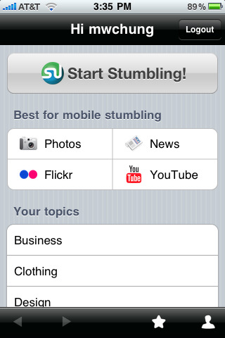 stumbleupon for iphone1