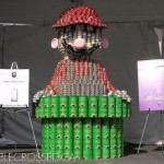 super mario bros canstruction artwork 4