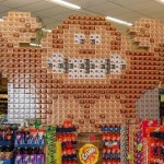 super mario bros canstruction artwork 7