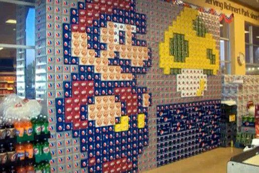 super mario bros soda can art image
