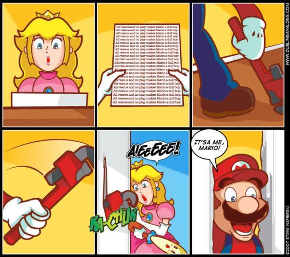 super mario bros the shining remake image
