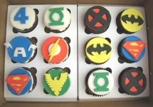 superhero cupcakes1