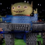 toy story alien canstruction artwork