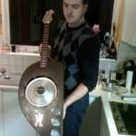 vespa guitar mod design