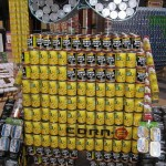 wall-e canstruction artwork 1