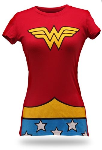 wonder women superhero t shirt costume