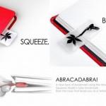 Abracadabra Pneumatic Bookmark