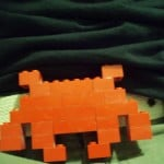 Build a Lego Space Invaders Belt Buckle