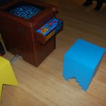 Cool Pacman Game Stools