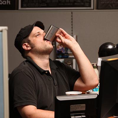 Ethanol Molecule Flask Drink