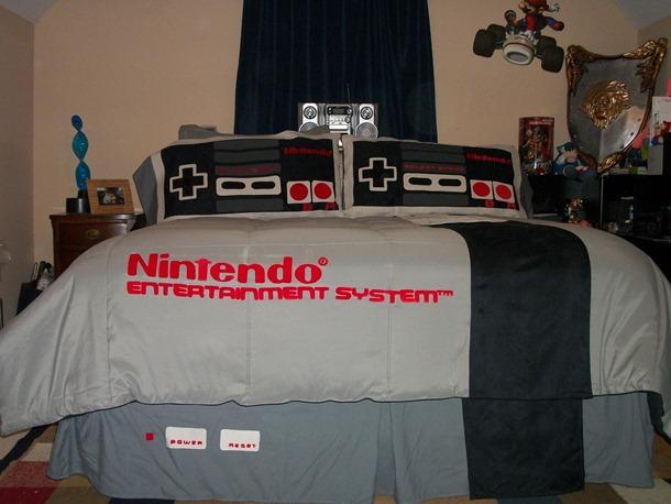 NES bed sheet