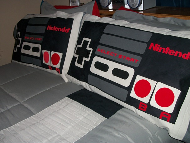 NES bed sheet