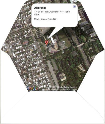 Google Map envelope