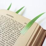 Green Leaf bookmark