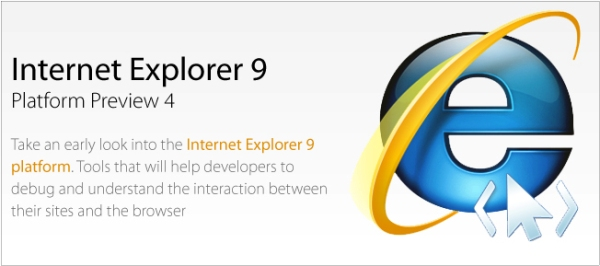 Internet Explorer 9 Preview
