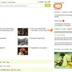 Jinni user public profile