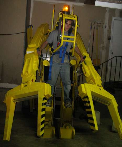 Life-Size Power Loader Costume