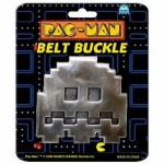 Metal Belt Buckle Featuring Pacman and the Ghosts