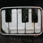 Piano Key Belt Buckle