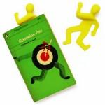 Running Man Bookmark
