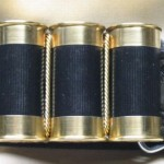 Shotgun Shell Belt Buckle Remington Black
