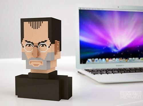 Steve Jobs Bust 2
