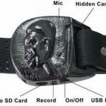 The Barack Obama Look Alike Spy Belt Buckle