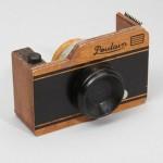 Wooden Camera Tape Dispenser