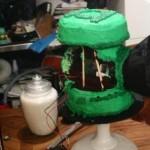 green lantern cake 2