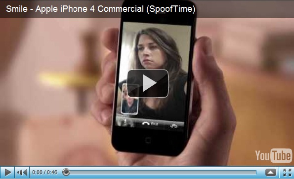 iphone 4 facetime parodies spoof image