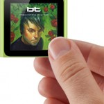 ipod nano multitouch screen size thumb
