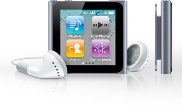 ipod nano multitouch screen