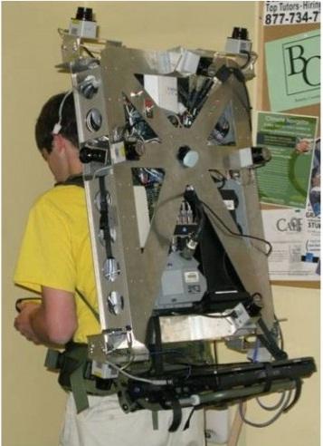 laser backpack design