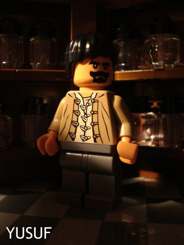 lego inception Arthur poster