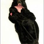 sleeping bag bear animal theme