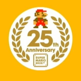 super mario 25th birthday