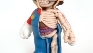 super mario anatomy artwork image