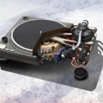1210 turntable music anatomy design image