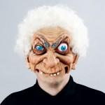 Crazy Old Man Mask