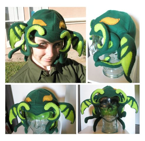 Fleece Cthulhu Hat