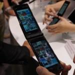 Fujitsu dual-screen touch smartphone