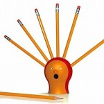 Hedgehog Pencil Sharpener