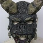 Horned Monster Halloween Mask
