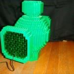 Lego Green Lantern Power Battery back